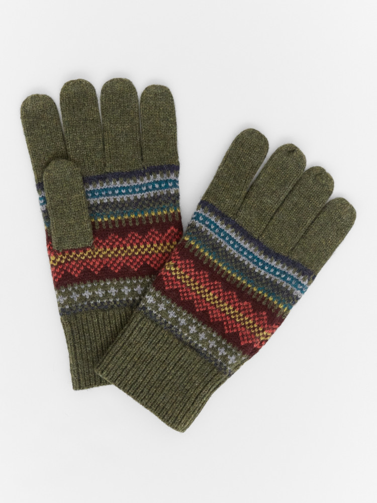 Alpine Fairisle Gloves
