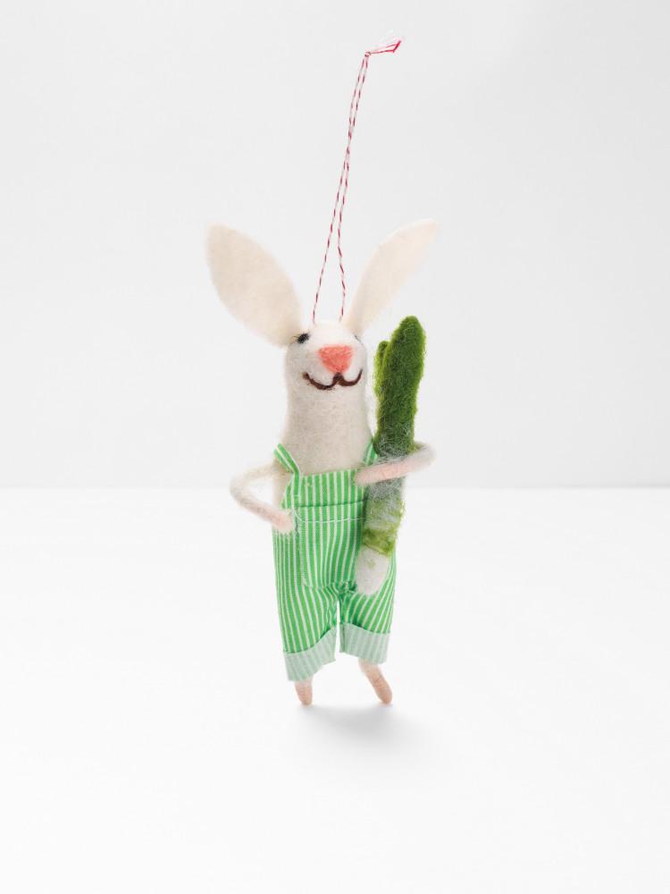 Billy Bunny Felt Hanging Decoration