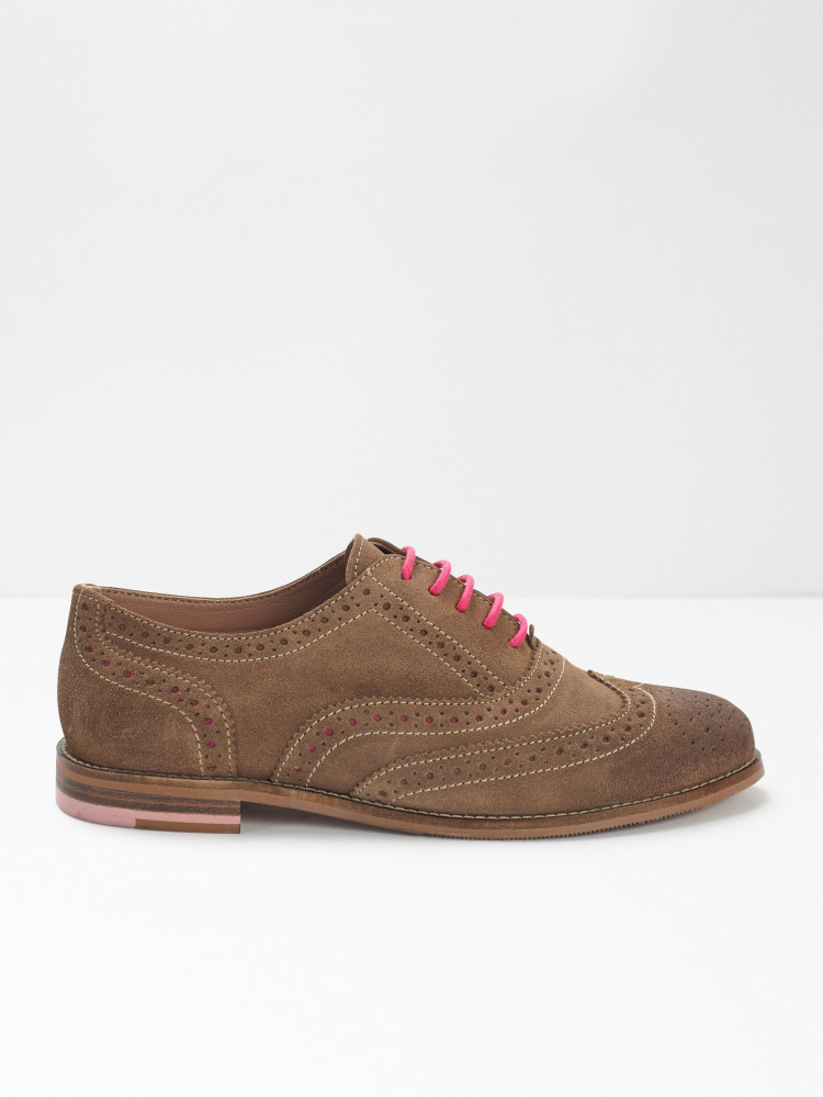 Adele Lace Up Brogues