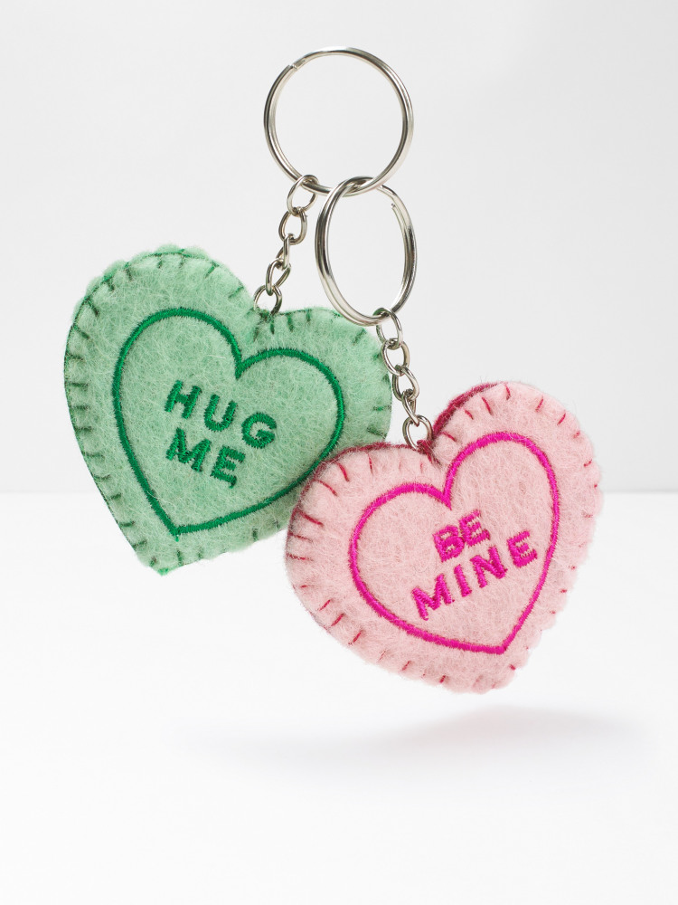 Sweet Heart Keyring