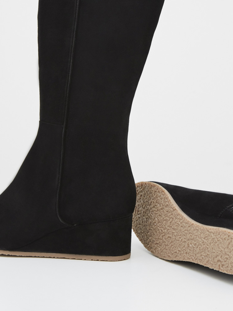 Issy Wedge Long Boot