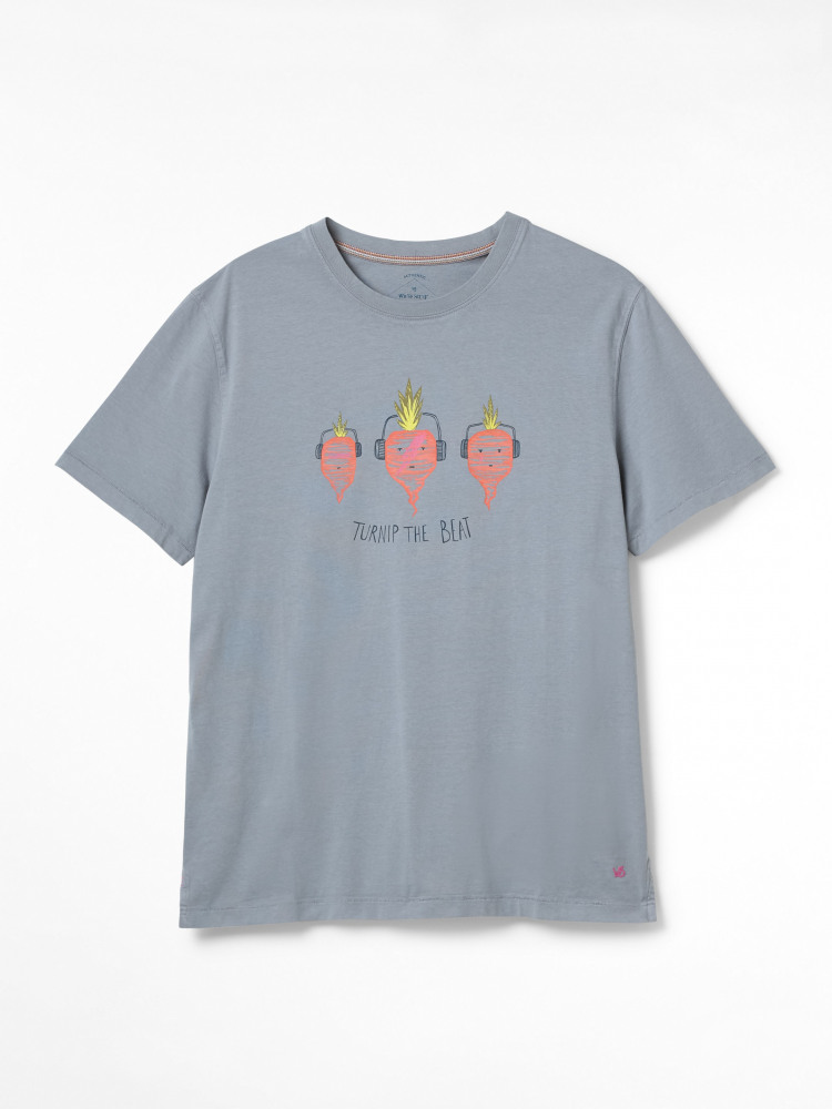 Turnip Graphic Organic Tee