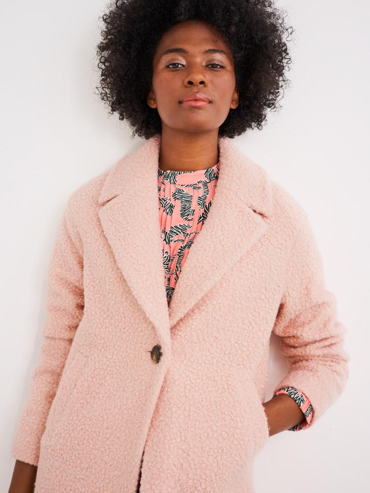 Boucle Midi Coat