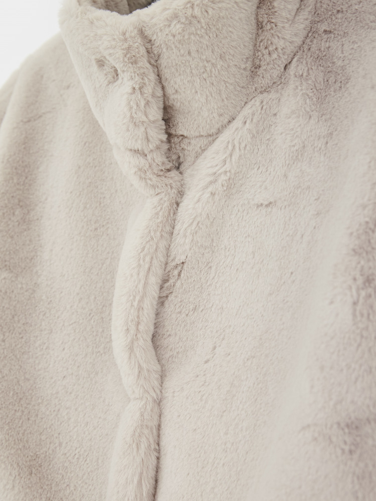 Moonbeam Faux Fur Coat