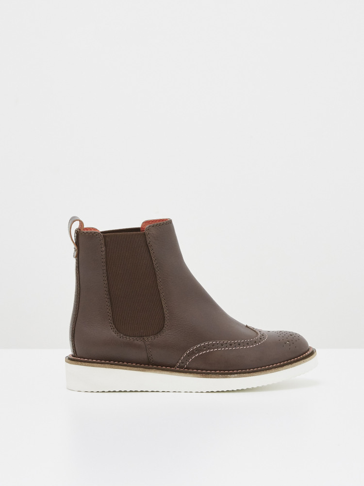 Bethany Brogue Ankle Boot
