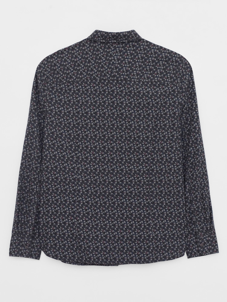 Spye Leaves Print Shirt
