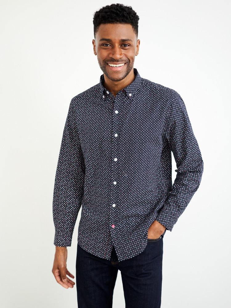 Chestnut Print Shirt