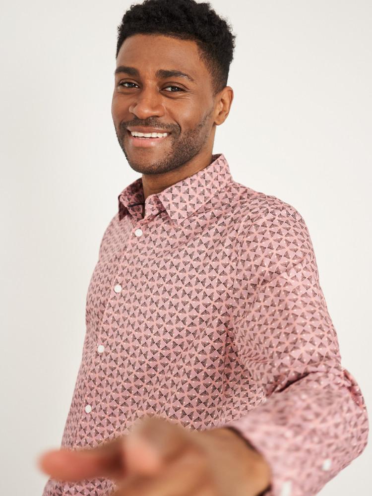 Abstract Fern Print Shirt