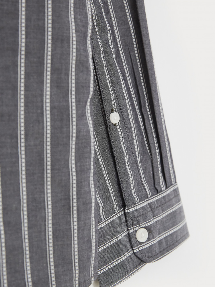 Grandad Stripe Shirt