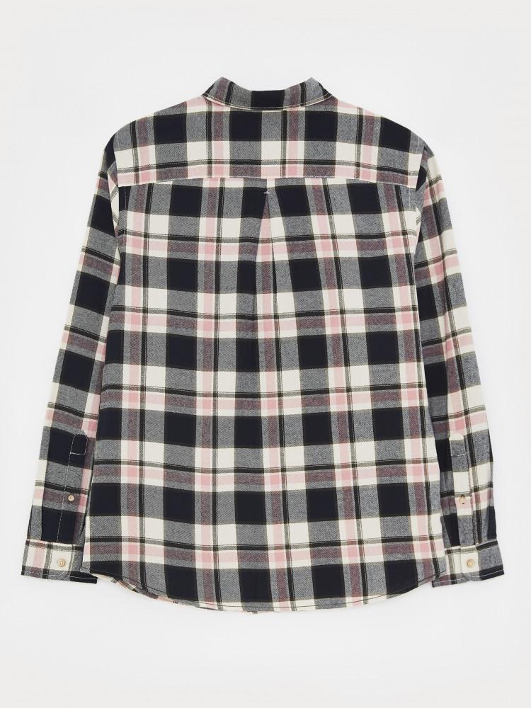 Windowpane Check Shirt