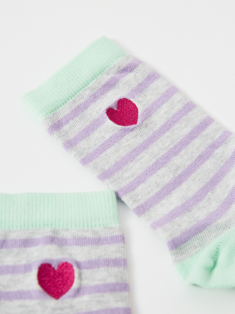 Freya Heart Sock