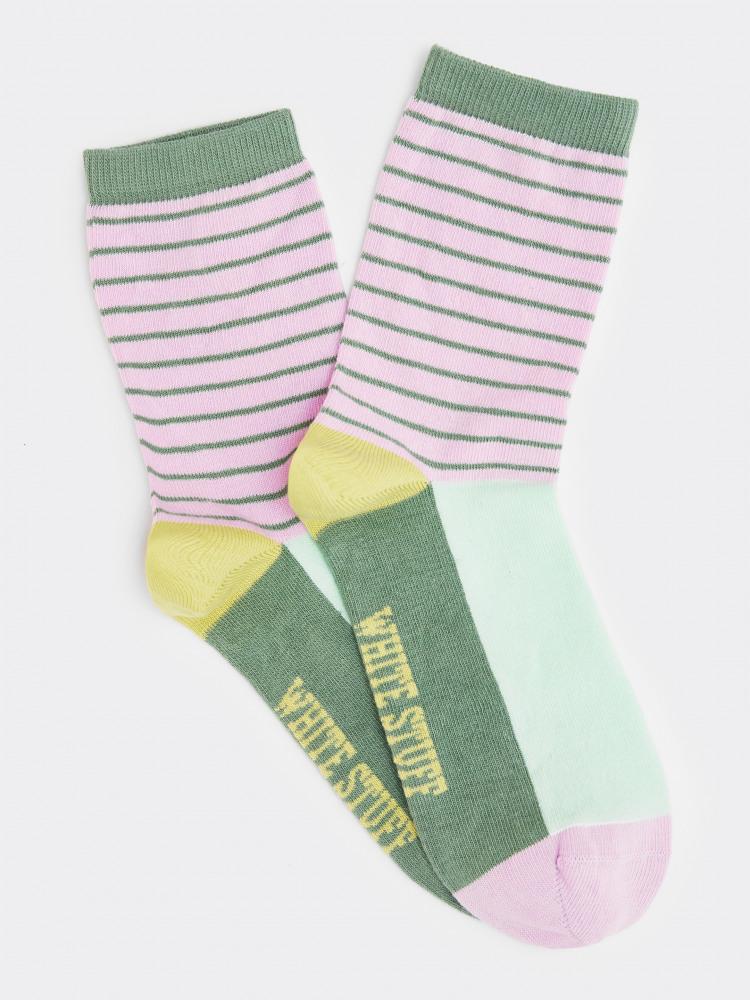 Ettie Stripe Colourblock Sock