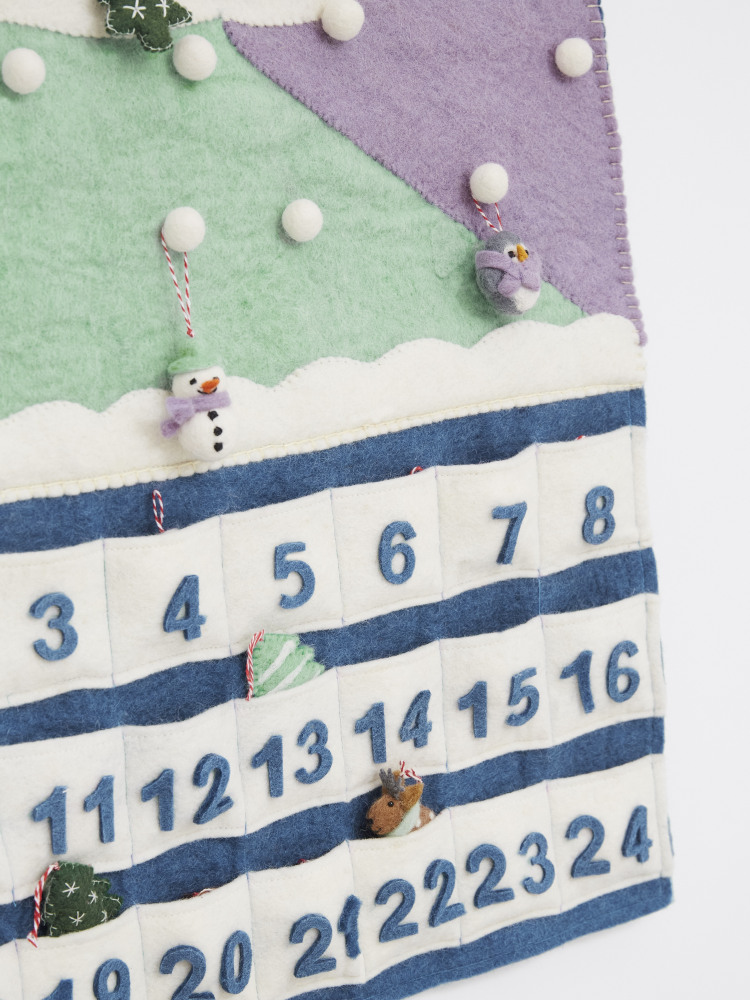 Woodland Felt Advent Calendar