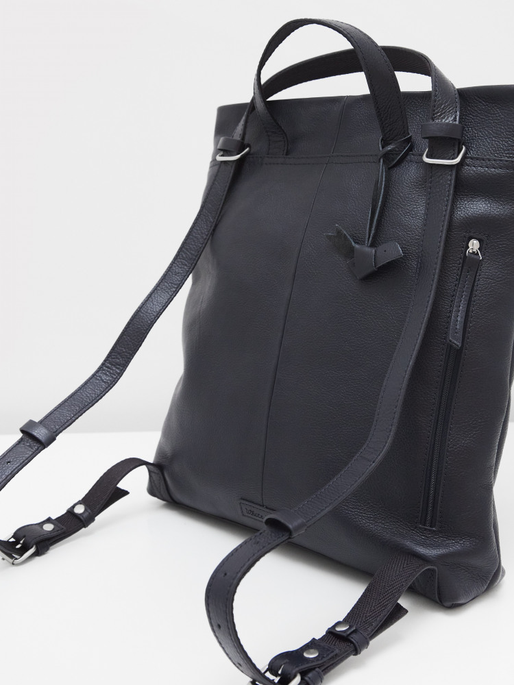 Mimi Leather Convertible Bag