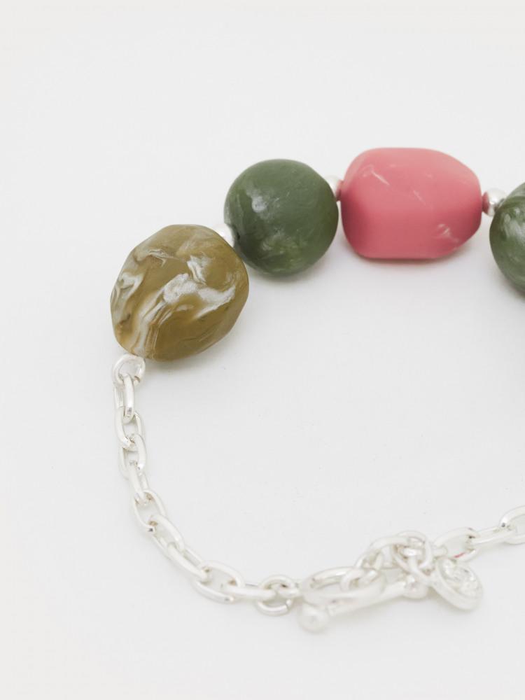 Pebble Bead Bracelet