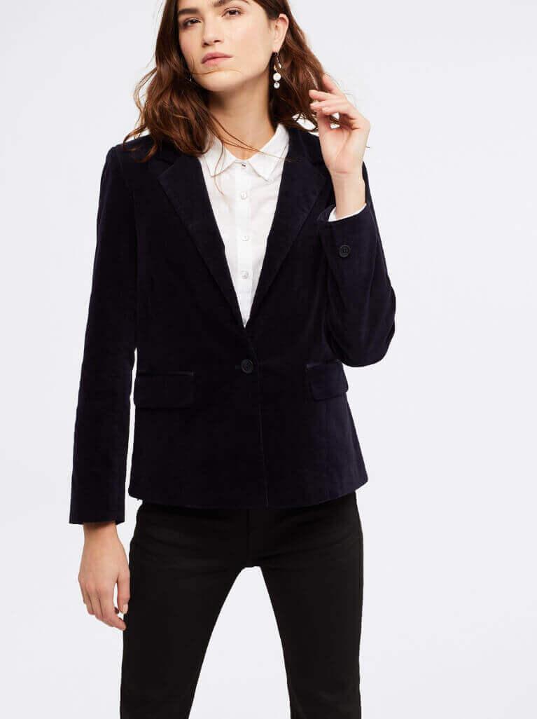 How to wear a velvet blazer – White Stuff