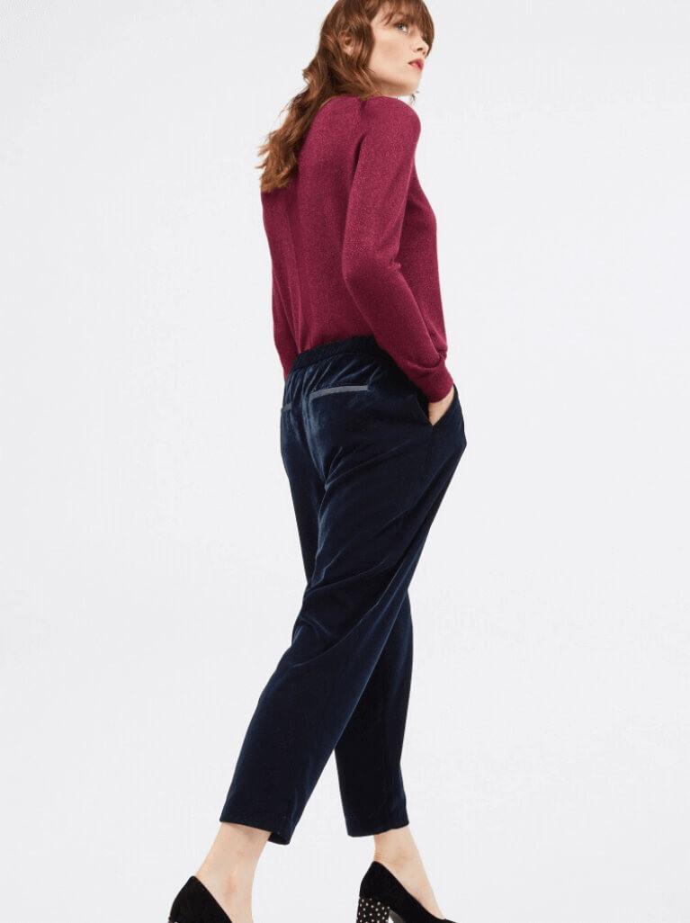 How to wear velvet trousers – White Stuff