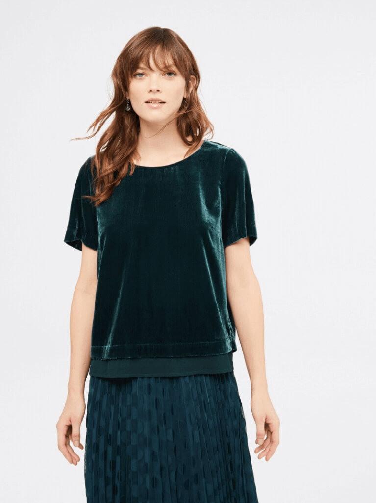 How to wear a velvet Top – White Stuff