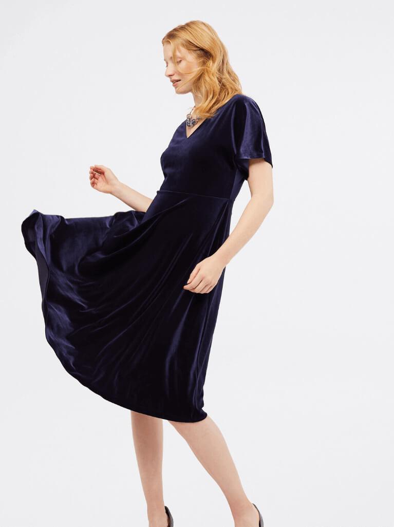 How to wear a Velvet Dress – White Stuff