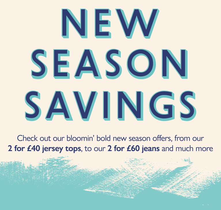 new season savings