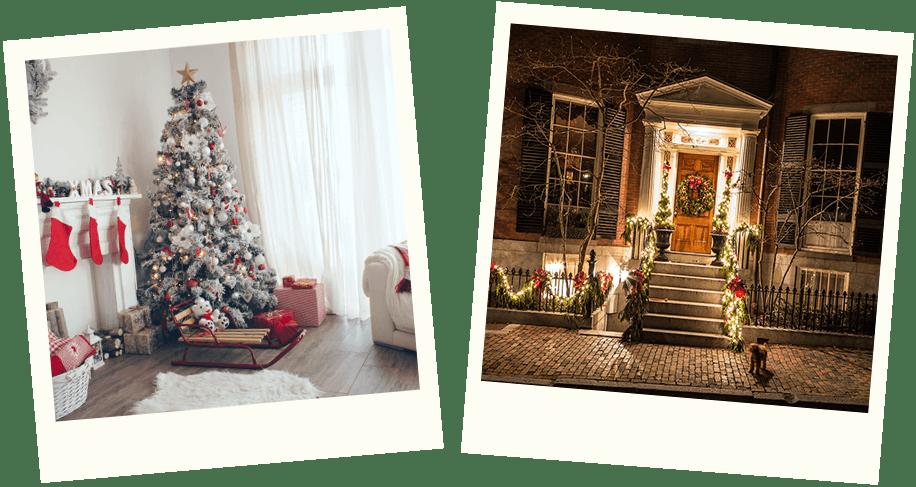 Schon schön dekoriert? Zeig uns, wie du dein Zuhause weihnachtlich geschmückt hast und gewinne mit etwas Glück 500 € für DAS BESTE WEIHNACHTSFEST EVER.