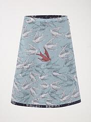 Fluttering Reversible Skirt