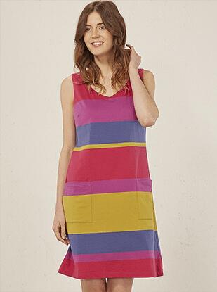 multi cotton dress